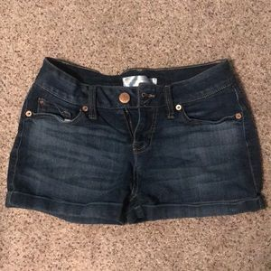 Size 9 denim shorts for kids